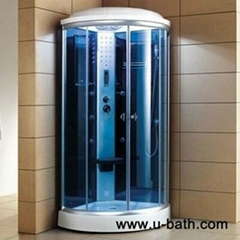 U-Bath corner bath shower,steam shower,prefab bathroom shower