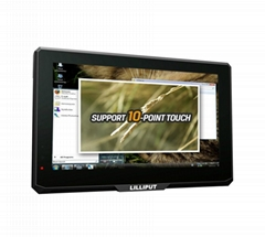 "7"" HDMI Monitor with capacitive touch function support 10-point touch"