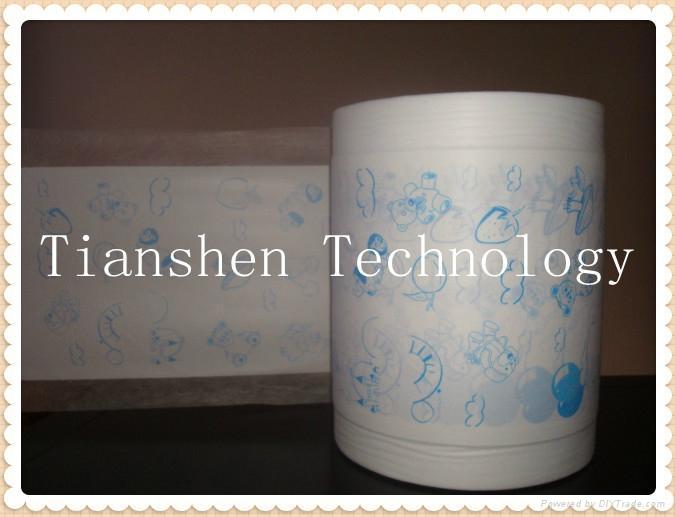 Lamination film for diaper use 2