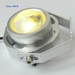 COB 12W LED Bullseye lamp for truck car, high power daytime running light