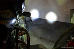 Motorcycle U2 LED Headlight with Modification Lens