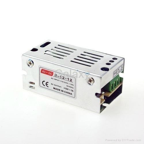 AC 110V 220V TO DC 12V Regulated Transformer Power Supply For LED Strip Light 2