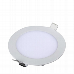 LED Panel Light, 12W, 850LM, 3000K(Warm white), the hole size of back:155MM, AC8
