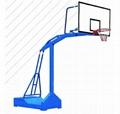 移動休閑籃球架 1