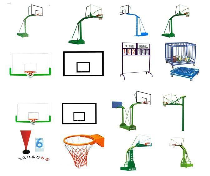 移動休閑籃球架 2