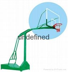 移動式凹箱籃球架