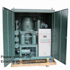 Double Stage Transformer Oil Purification system Plant