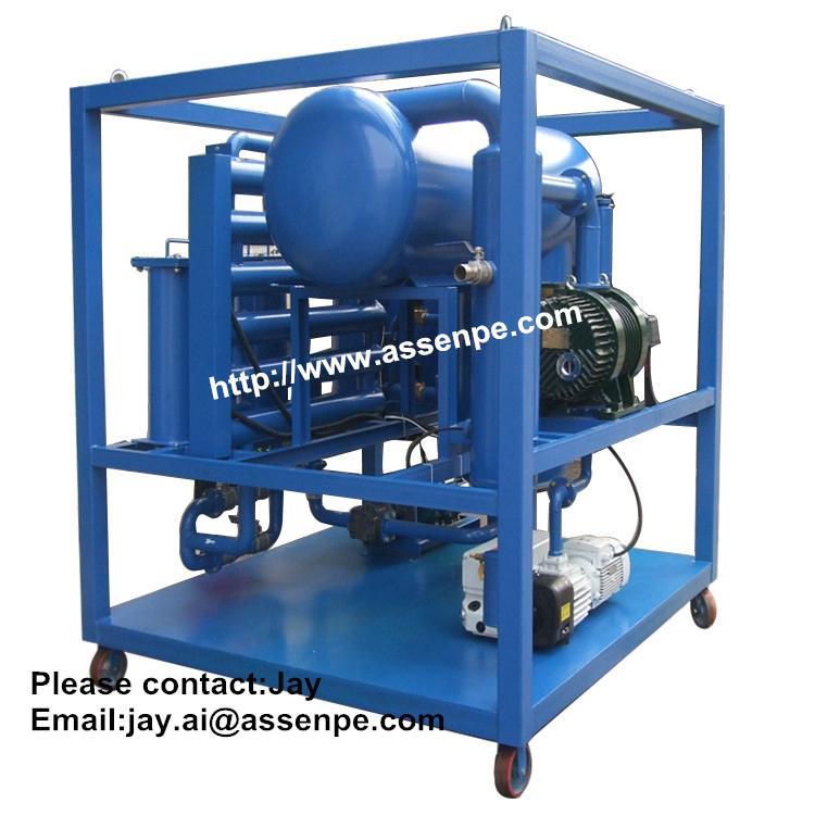 Offer Oil Transformer Filtration System machine 1