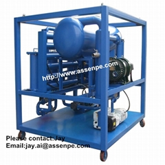 Offer Oil Transformer Filtration System machine