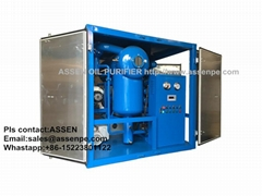 ZYD High vacuum Transformer Oil Purification Service Machine