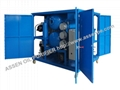 enclosed type high vacuum transformer oil purification system machine