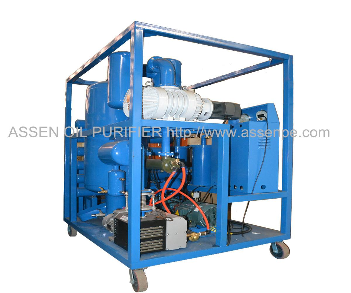 6000 LPH Double-stage Transformer Oil Purifier plant 1