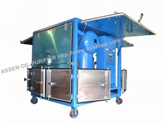 Advanced Performance Transformer Oil Filtration System machine