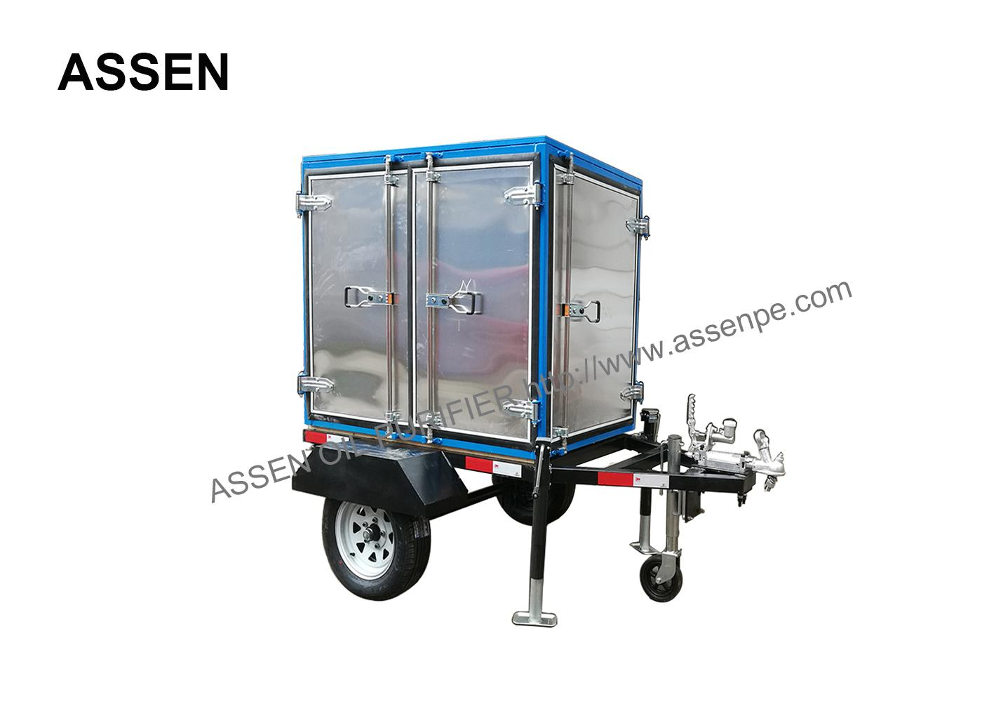 Trailer mounted transformer oil treatment plant,high vacuum oil purifying plant 1