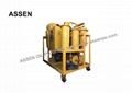 2000 liters hour oil dehydration plant,