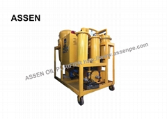 2000 LPH Portable transformer oil dehydration plant