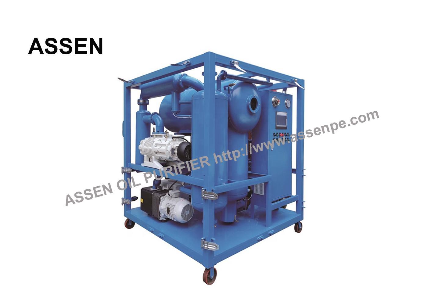 PLC Automatically Power Transformer Oil Filtration Plant 1
