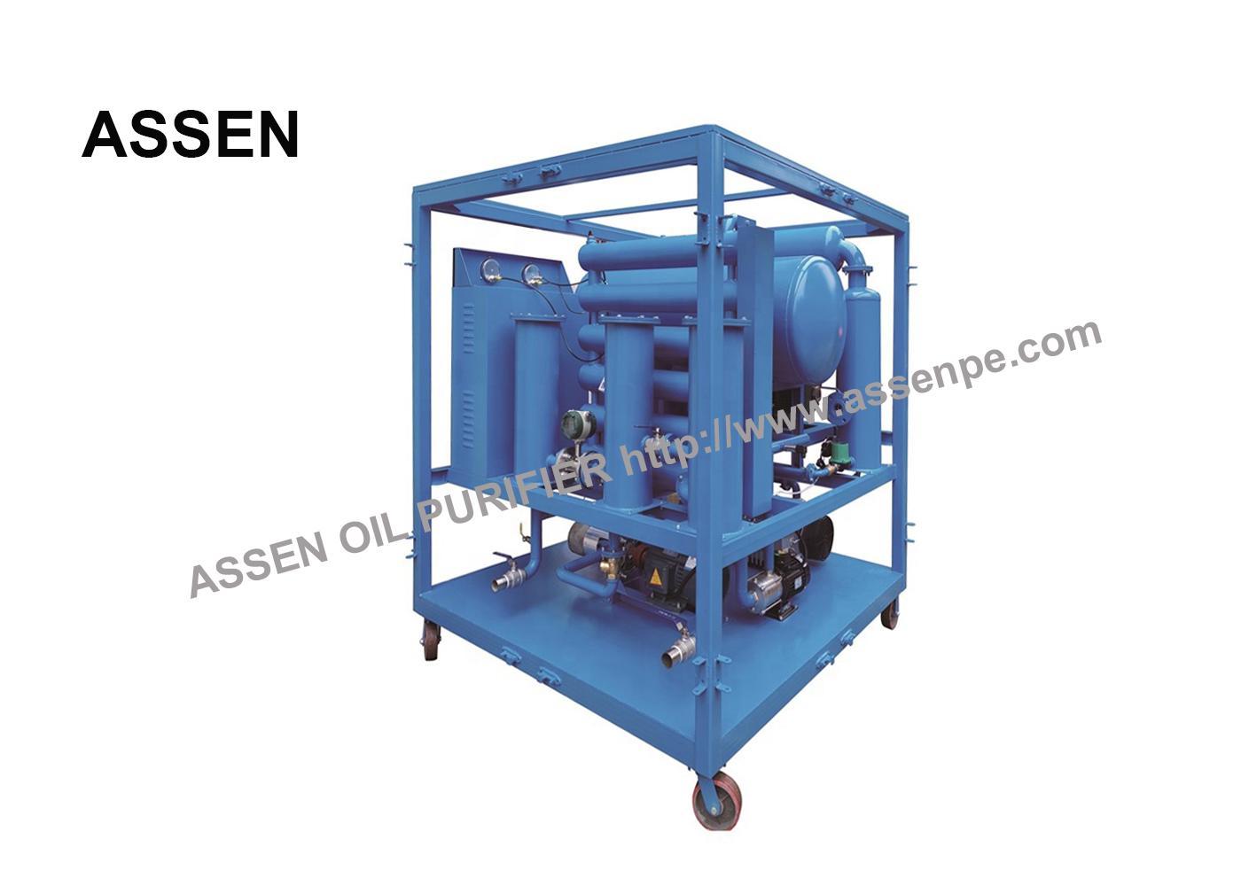 PLC Automatically Power Transformer Oil Filtration Plant 3