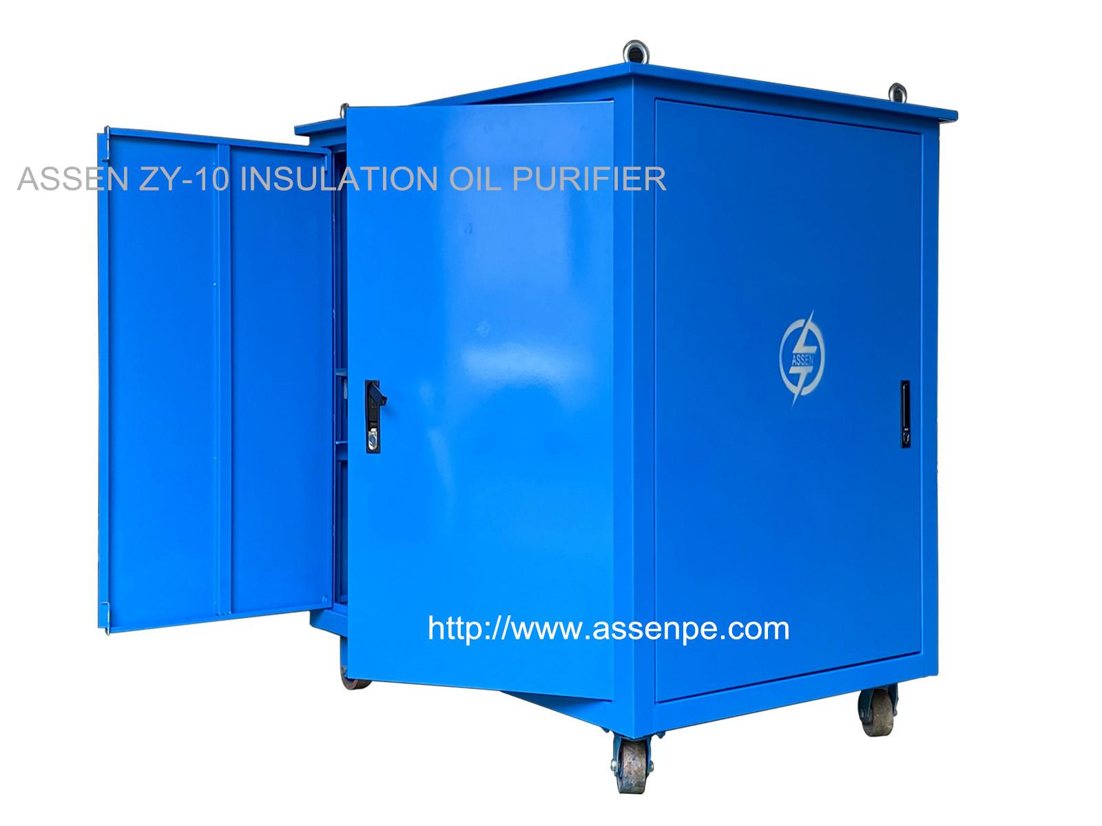High Quality vacuum Insulating Oil Purification Plant 1