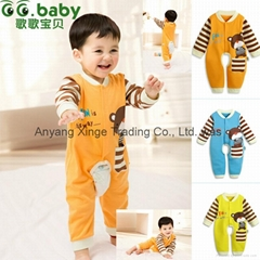 Spring Fall Romper For Babies Unisex Newborn Baby Boy Girl Jumpsuits Toddler
