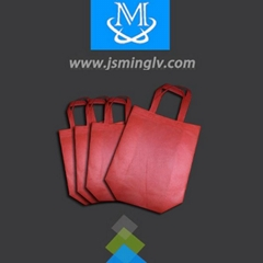 Disposable non-woven shopping bag