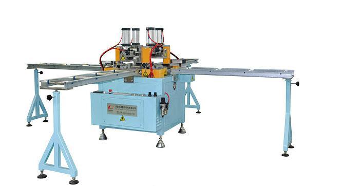 high configuration PVC window-doors cross welding machine 1