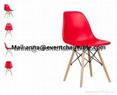 Plastic Resin Polypropylene PP Side Eames Chair