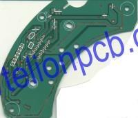 HAL pcb board fr4 double side copper double-side copper double 2