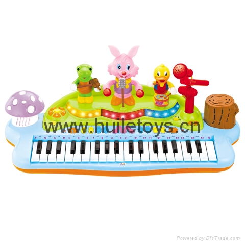 HUILE Funny Playing and Learning Electronic Keyboard 2
