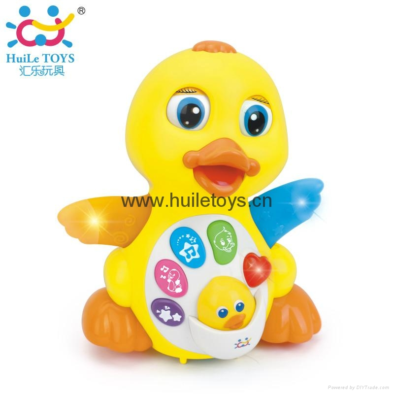 HUILE Educational Toy Animal Duck 1