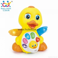 HUILE Educational Toy Animal Duck