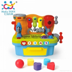 HUILE Educational Toy Workbench Tools