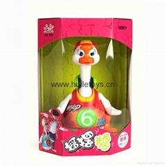 HUILE Baby Electronic Animal Toy Swing Goose