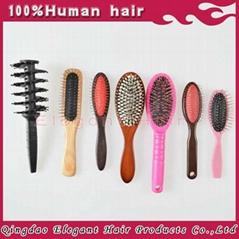 Whlosale salon quality hair brush, comb