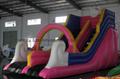 pvc 0.55mm water park slides for sale