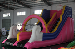 pvc 0.55mm water park slides for sale