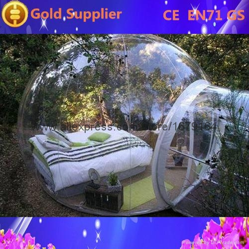 Inflatable Clear Dome Tent for Outdoor Camping 1