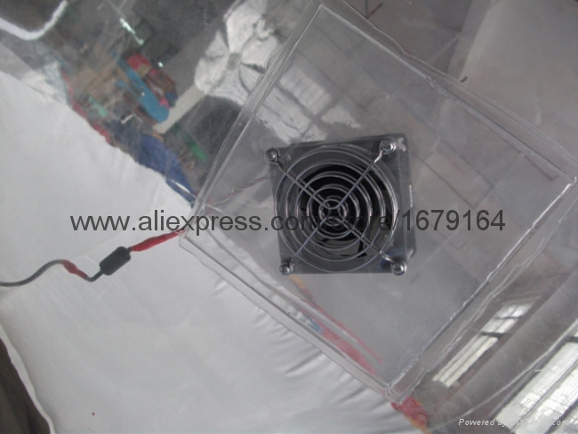Inflatable Clear Dome Tent for Outdoor Camping 2