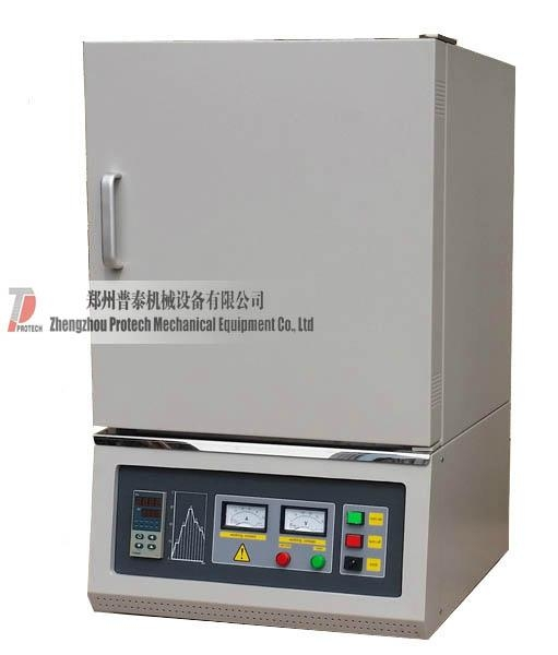 Laboratory high temperature electric muffle box chamber furnace oven  1