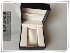 黑色充皮纸表盒
