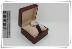 一只裝手錶包裝盒