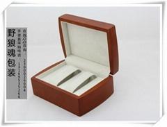 木質雙隻手表禮盒