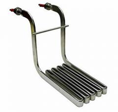 批量生产 12~440V不锈钢模具扁平加热条