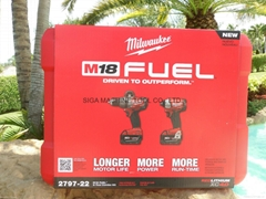 Milwaukee 2797-22 M18 FUEL™ Brushless Hammer Drill/Impact Driver Combo Kit