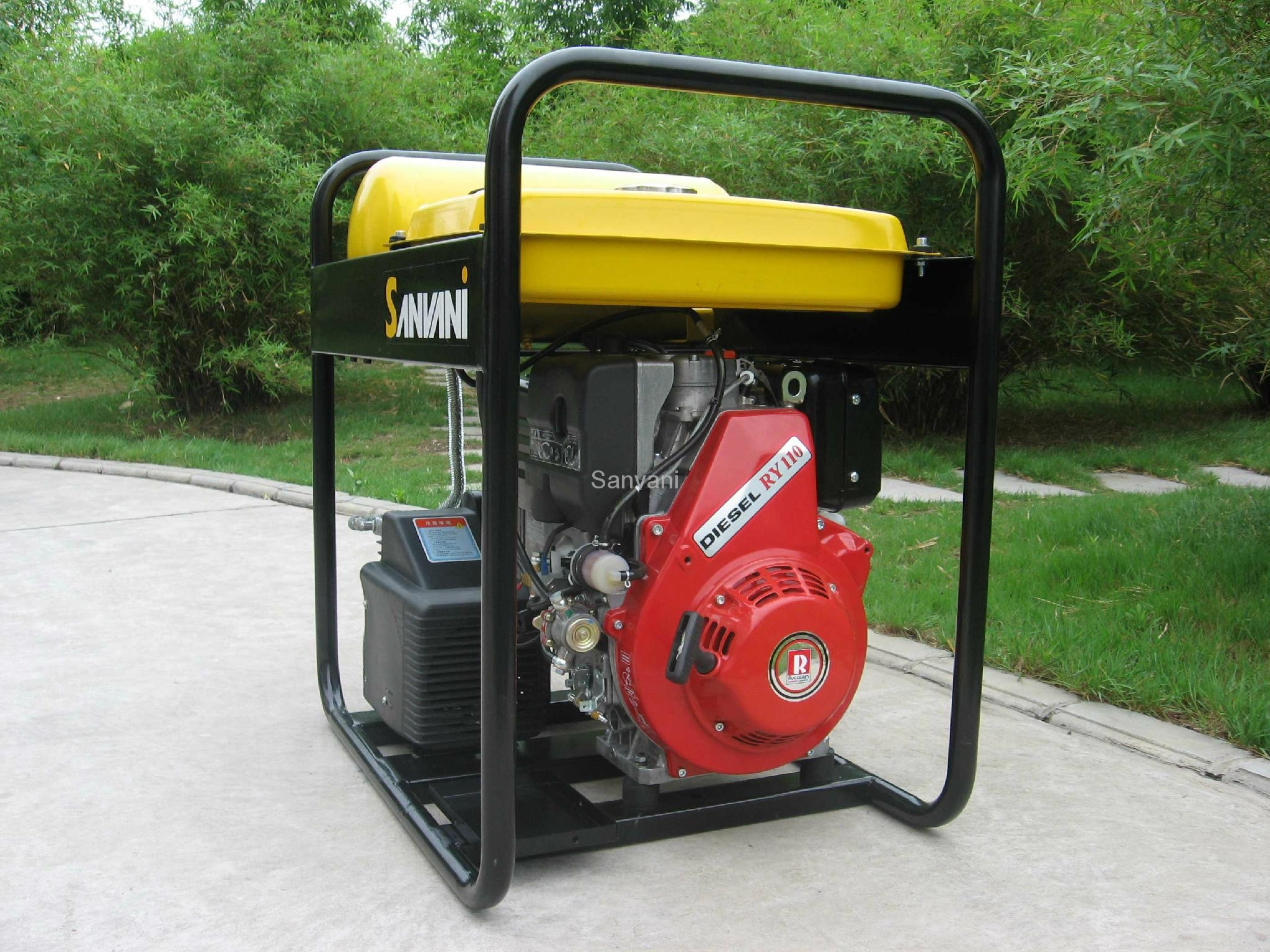 Ruggerini Air Cooled Diesel Engine Sanvani China Manufacturer