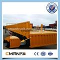 China new Bulk Cargo Transport 3axles small box new semi trailer price