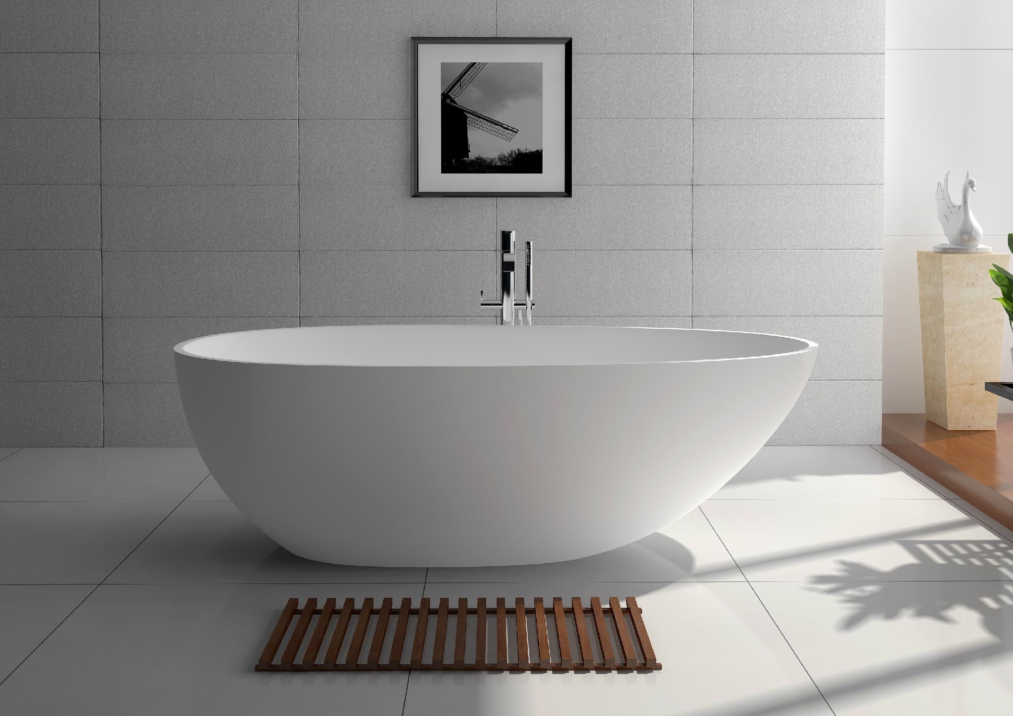 Jingzun Freestanding Bathtub Solid Surface Bathtub - JZ8608 (China ...