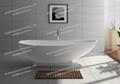 Stone Bathtub Manufacturers Mail: Jingzun Freestanding Composite Resin Bathtub Artificial