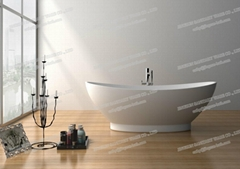 Jingzun Solid Surface Bathtub