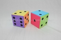 Huge Colorful EVA Foam Dice- 30 cm , Dots 1-6 2